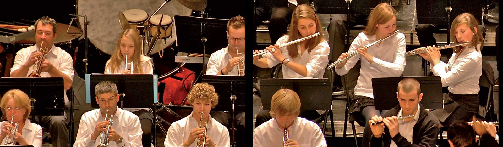 Les Harmonies du Conservatoire de Saint-Malo