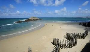 plage Saint-Malo Bretagne