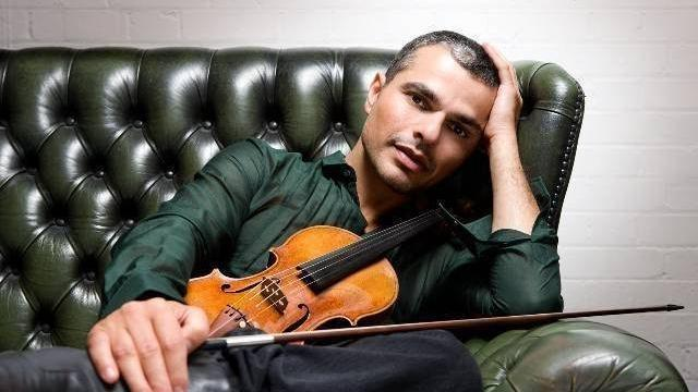 Laurent Korcia , violoniste virtuose invité de Classique au large.© A REYNAGA/STARRY NIGHTS